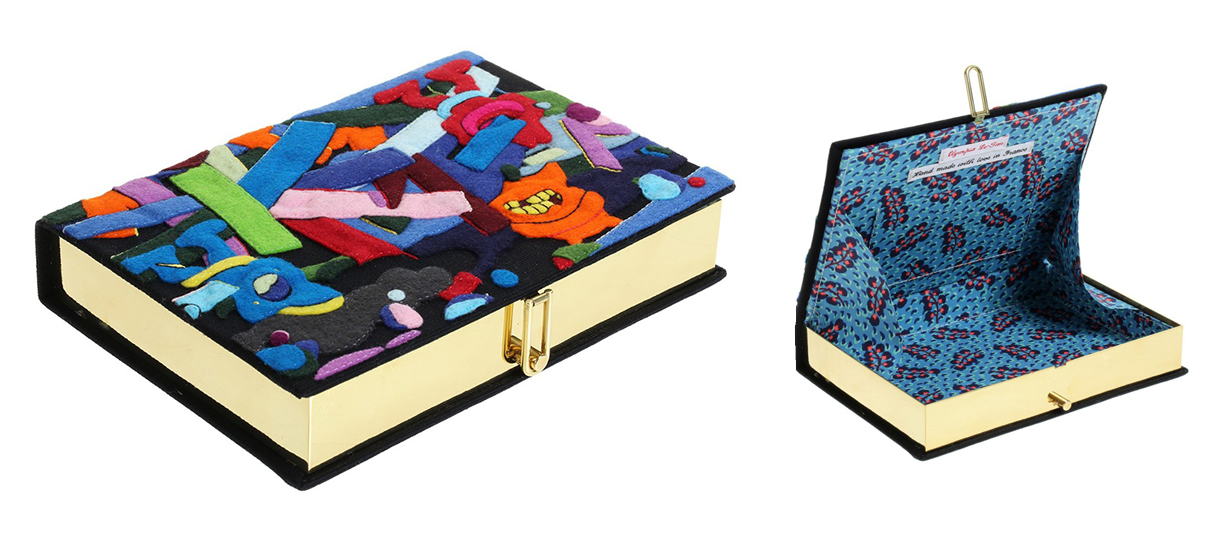 olympia-le-tan-kaws-clutch-book