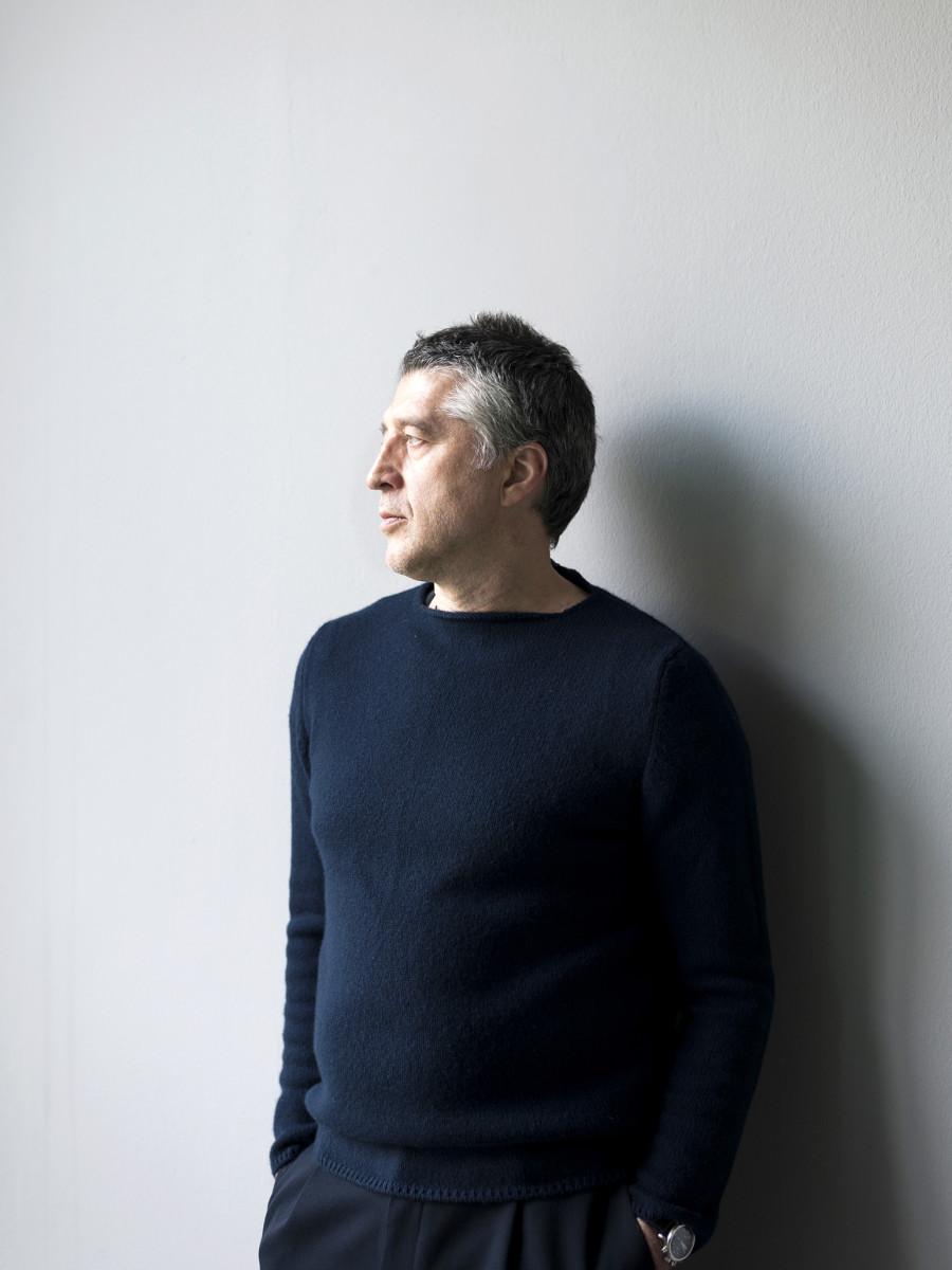 Andreas Murkudis im AM Möbel + Architektur in der Potsdamer Strasse in Berlin