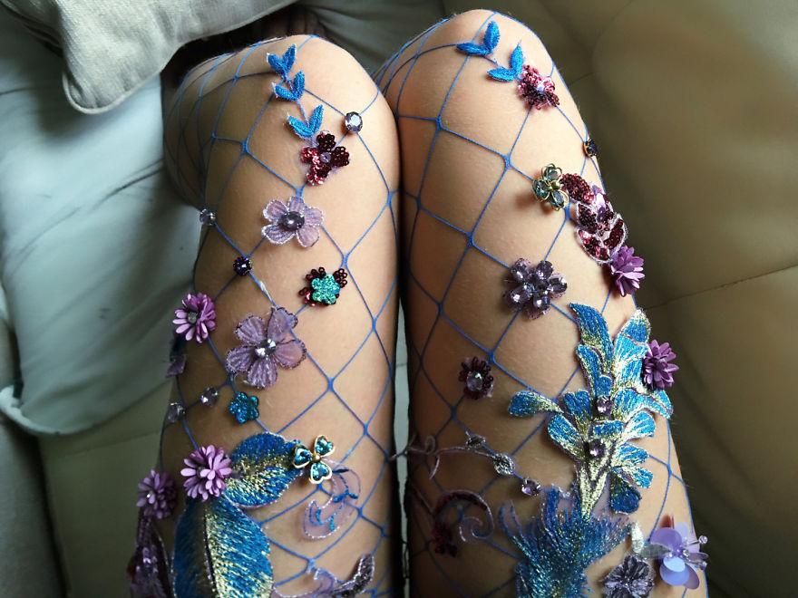 Lirika Matoshi-fishnet tights 2_theartgorgeous