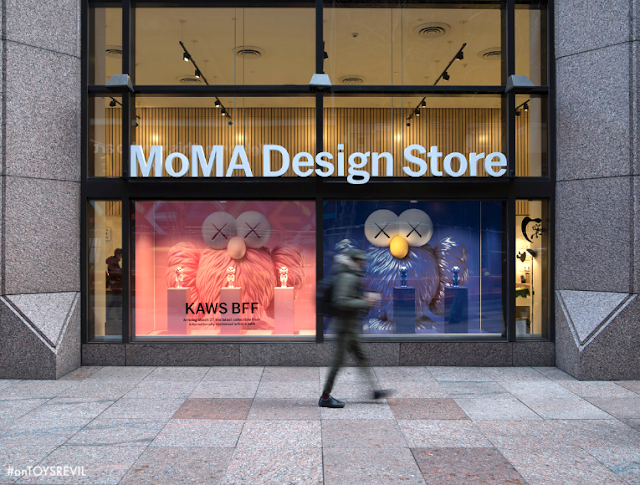 KAWS drops latest piece at the MoMA design store | TheArtGorgeous